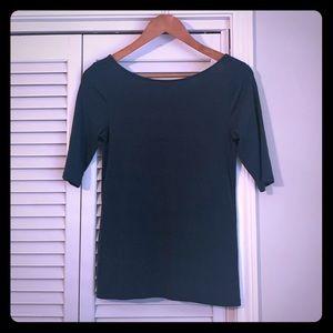 Green ballet style shirt